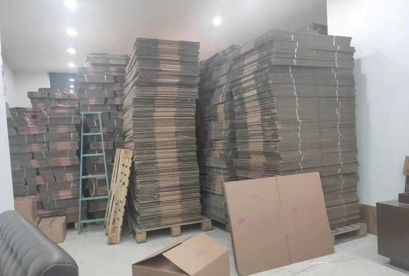 5层牛皮纸箱上万个库存处理