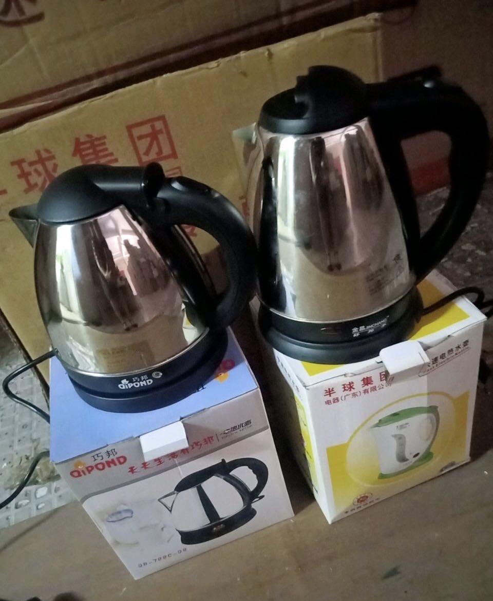 处理一批电热水壶,统货处理!