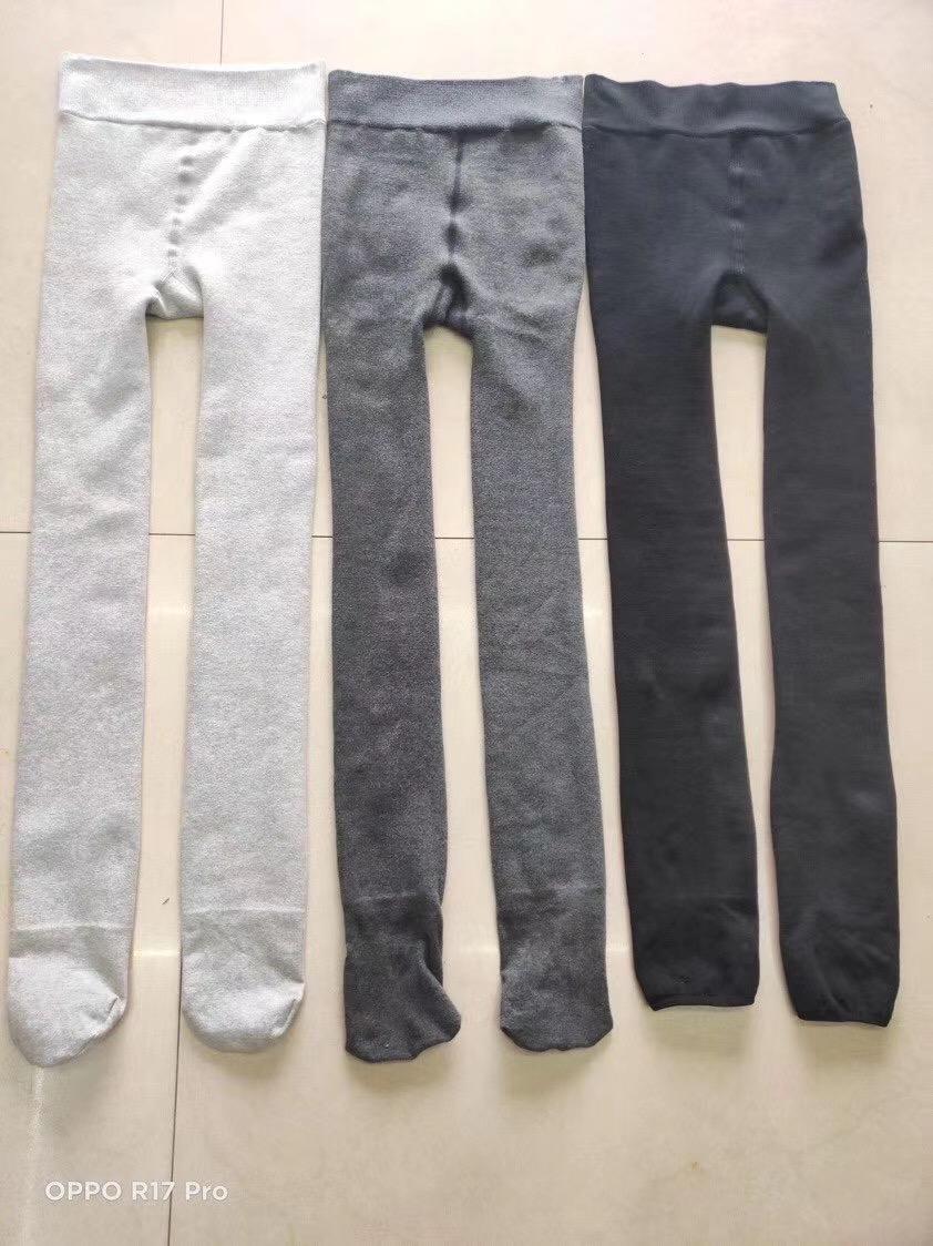 生态棉分层一体裤,浅灰深灰黑。3个颜色,8000条,超低价格处理