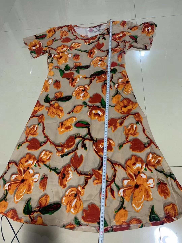 外贸16600条连衣裙👗能做的联系,四个码,码子偏大,有弹力
