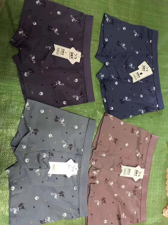 男士平角内裤22000条,纯棉L一3XL,清货便宜