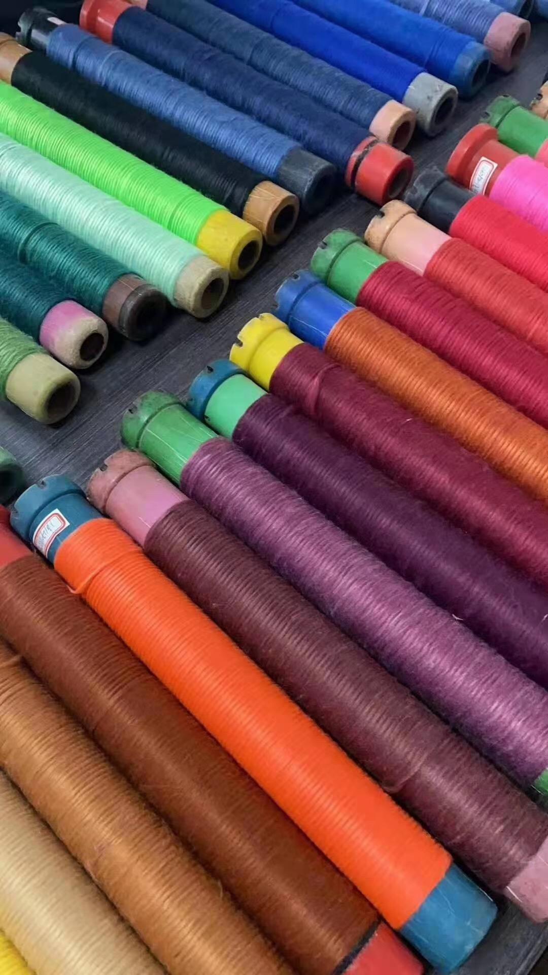 公司专业定纺有色粗纱,